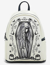 Disney Loungefly The Nightmare Before Christmas Jack And Sally Mini Backpack Bag