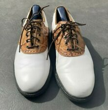 FOOTJOY ICON GOLF SHOES GENTLY USED SIZE 8 M WITH CEDAR SHOE TREES