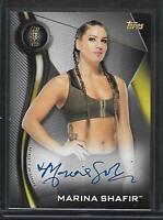 2018 Topps WWE NXT AUTOGRAPH Marina Shafir 1st Card RC Superstar AUTO