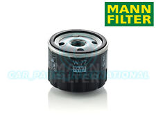 Mann Hummel OE Quality Replacement Engine Oil Filter W 77