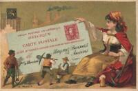 SET of 8 SMALL VINTAGE ADVERTISING CARDS for DIFFERENT CHOCOLATE AWARD POSTCARDS
