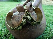 Vintage Handmade Earrings Afghan Kuchi Tribal Jewelry Boho Gypsy Indian Earrings