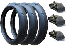 PHIL & TEDS VIBE / VERVE / PRAM TYRES & INNER TUBES - FULL SET OF 3 (300 X 55)