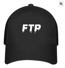 FTP logo Printed on Hat Black Baseball Cap  L/XL