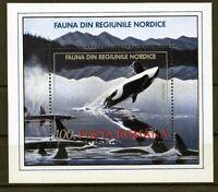 HB RUMANIA / ROMANIA / ROEMENIE año 1991  yvert nr.224  nueva  Fauna ballenas
