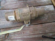 Full flow in line ball valve part # IBV2000