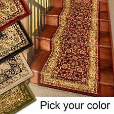 Marash Luxury Collection 25' Stair Runner Rugs Stair Carpet Runner, Black