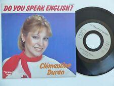 CLEMENTINE DURAN Do you speak english ? 990060 Discotheque RTL