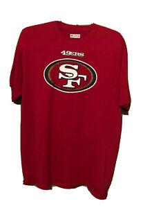 San Francisco 49ers NFL Football Colin Kaepernick T-Shirt Red XL