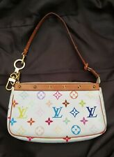 LOUIS VUITTON POCHETTE HAND BAG CLUTCH MULTI-COLOR SHIPS FROM USA