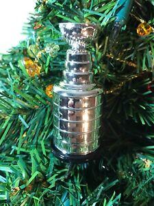 NHL Stanley Cup Hockey Christmas Tree Ornament  NHL   Generic