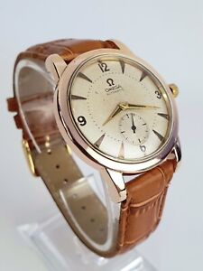 Outstanding XL 1949 Vintage Omega Seamaster Automatic 2493 Cal.332 Watch