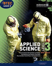 BTEC Level 3 National Applied Science Student Book by Ellen Patrick, Shirley...