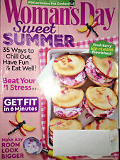 WOMANS DAY Magazine JUNE 2017 SUMMER RECIPES Fight Inflammation NO BAKE PIES