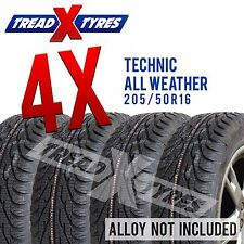 4x 205/50R16 Technic Winter / All Weather Tyres Four 205 50 16 Free Delivery x4