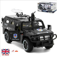 1:32 Police SWAT Anti-hijacking Armored Vehicle Truck Alloy Car Model Toys