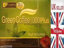 THE LEPTIN GREEN COFFEE 1000 PLUS VERBESSERT DIÄT SCHLANKUNG GEWICHTSVERLUST