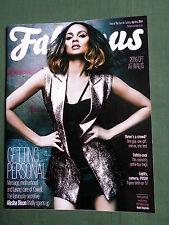 FABULOUS  - UK SUNDAY MAGAZINE - 6 APRIL 2014 - ALESHA DIXON