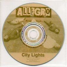 (AB322) Allegro, City Lights - DJ CD