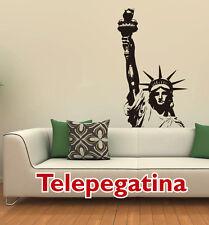 VINILO DECORATIVO PARED ESTATUA LIBERTAD 100X60 STATUE LIBERTY PEGATINA NEW YORK