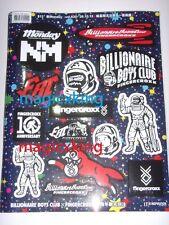 Billionaire Boys Club BBC x Fingercroxx Sticker Sheet New Limited Exclusive RaRe