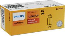 Philips Glühlampe Kennzeichenleuchte 12866CP
