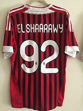 El Shaarawy Ac Milan 2011-2012 Soccer Football Jersey Shirt Men's L