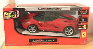 Ferrari Laferrari Remote Control RC Car New Bright Red NIB