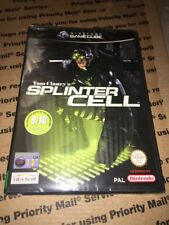 Splinter CELL NINTENDO Game Cube-NEW SEALED New Sealed PAL version GC US SELLER