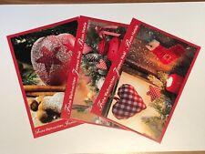 exklusive Weihnachtskarten mit Umschlag Set Grusskarten Klappkarten Handarbeit