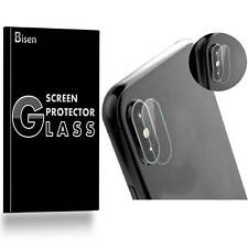 iPhone X Rear Camera [3-PACK BISEN] Tempered Glass Screen Protector Shield Guard