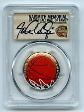 2020 S 50C Colorized Basketball Commemorative PCGS PR70DCAM FDOI John Caliparri