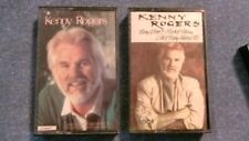 2 Cassette lot : Kenny Rogers - Love Is What We Make It & They don't make them