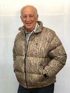 NWT Browning 650 Premium Down Jacket, Large, Mossy Oak Bottomland