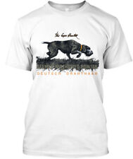 German Wirehaired Pointer. A Born Hunter - Pointer Hanes Tagless Tee T-Shirt