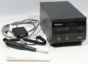 Edmas Gesswein DuoMax II Ultrasonic Polisher System Finisher