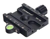 """Sunwayfoto DDC-60i  60mm Clamp Arca Compatible /Tripod Head 1/4"""" 3/8"""" Sunway NEW"""