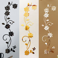Modern Mirror Styles Removable Decal Art Mural Wall Sticker Home Room DIY Decors