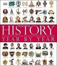History Year by Year by DK (Hardback, 2011)