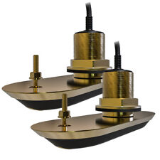 RAYMARINE RV-220 PAIR 3D THRU HULL 20 DEGREE 8M CABLE
