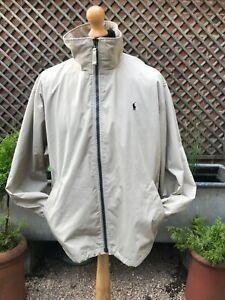 Original POLO by Ralph Lauren polyester zip jacket size XL