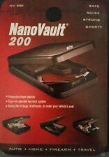 GunVault NV200 NanoVault 2 Keys Lock.with 1,500.lb test security cable.