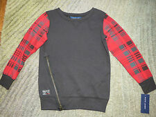 Ralph Lauren Girls Black / Red Plaid Top - Size S(7) - NWT