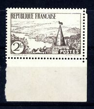 N°301A ** Rivière Bretonne, 2F ardoise, bord de feuille Superbe FAUX