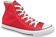 d7612ca6122c Converse Chuck Taylor All Star Hi Shoe Red M9621c High Top Trainers UK 6