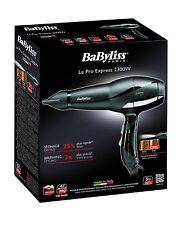 BaByliss 6614E Séche à Cheveux Ionique Ultra Rapide Moteur Professionnel AC,