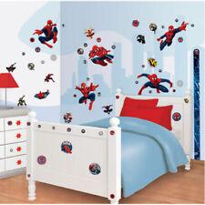 Spiderman Walltastic Wandsticker Sticker Tapete Wandtapete Wandbild