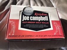 New listing ⛳️🏌🏿1962 Joe Campbell Kroydon Brand Unsplit Dozen Box W/1 Mint & 1 EmptySleeve