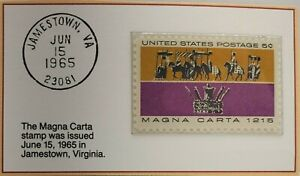 1965 5c The Magna Carta Stamp