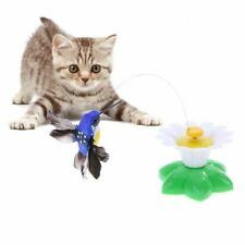 Cat Toy Electric Rotating Rod Wire Teaser Interactive Training Toys Funny